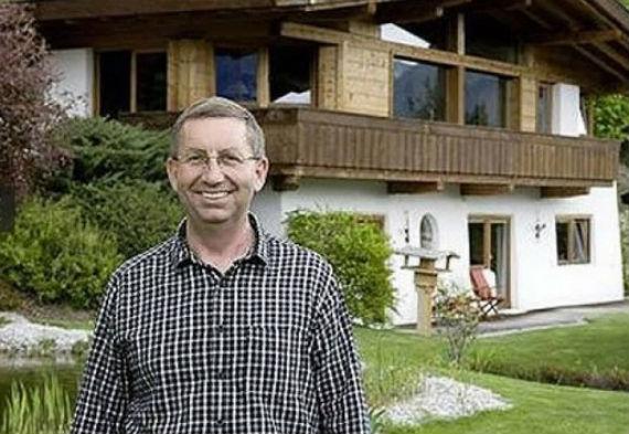 Un día, Karl Rabeder decidió que su riqueza ya no lo hacía feliz. Foto: blog.udn.com