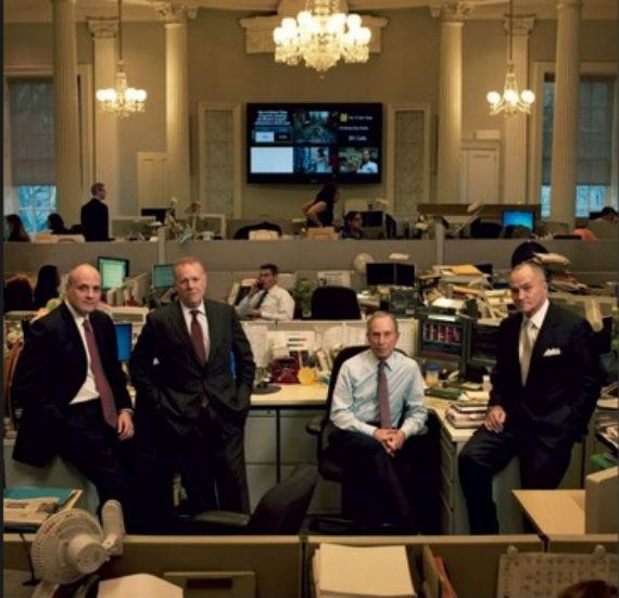 El Alcalde de Nueva York y su equipo. Foto: picsbox.biz