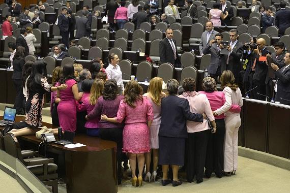 La participación de las mujeres en la política aún tiene muchas deficiencias, ONGs y expertos. Foto: Cuartoscuro