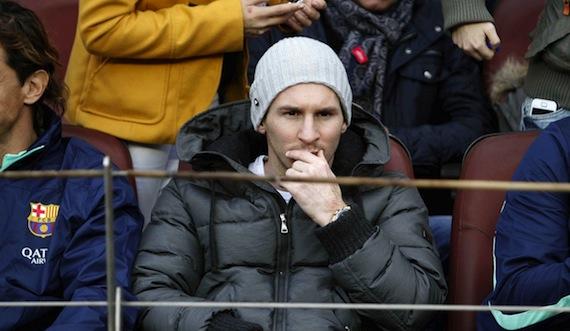 La fiscalía de delitos económicos de Barcelona acusó a Messi y a su padre de no haber declarado a Hacienda más de cuatro millones de euros entre 2007 a 2009. Foto: EFE
