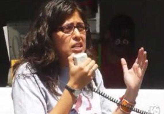 La abogada Alejandra Anchieta también es directora de ProDESC. Foto: Moral Courage
