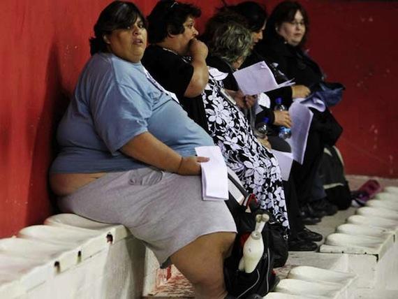 La obesidad se ha convertido en una situación de emergencia en México. Foto: EFE