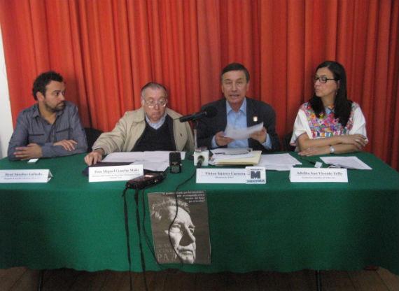 Integrantes de la OSC que interpusieron la demanda contra la siembra de transgénicos. Foto: Cencos