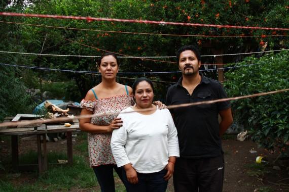 En defensa de los derechos laborales de los trabajadores de limpieza. Foto: Antonio Cruz, SinEmbargo