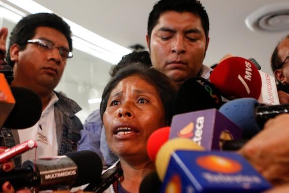 """Elia Tamayo asegura que el gobierno de Moreno Valle """"es un mal gobierno que no sabe cuidar su estado"""". Foto: Francisco Cañedo, SinEmbargo"""