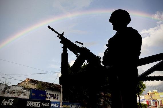 En 2014, 8 de cada 10 mexicanos se dijeron altamente preocupados por la seguridad nacinal . Foto: Cuartoscuro.