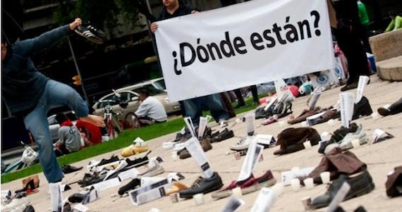 Familiares de los desaparecidos solicitaron al gobierno recursos para continuar con la búsqueda. Foto: Cuartoscuro