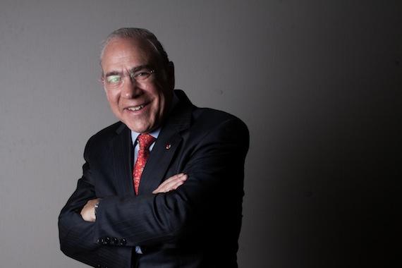 José Ángel Gurría Treviño, Secretario General de la OCDE. Foto: Antonio Cruz, SinEmbargo