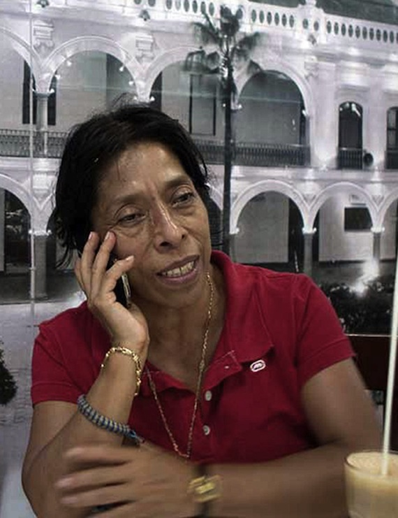 Regina Martínez. Foto: Blog Expediente