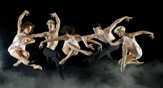 Les Ballets Jazz de Montréal en el Teatro de la Ciudad. Foto: Facebook