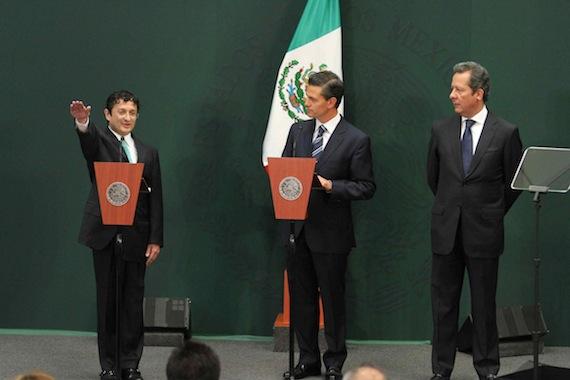 La Secretaría duró 26 meses sin titular; durante ese tiempo estuvo como encargado de despacho Juan Alfonso Olivas Ugalde. Foto: Notimex.