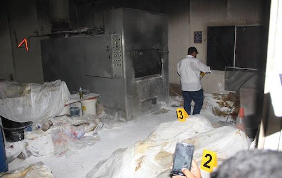 Los cuerpos fueron hallados tras una denuncia anónima. Foto: Cuartoscuro.