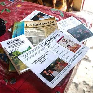Antiguos ejemplares de <em>La Unión</em>. Foto: blog.expediente.mx