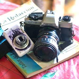 De las primeras cámaras que tuvo Moisés. Foto: blog.expediente.mx
