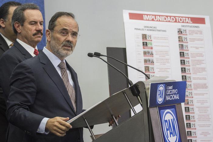 Gustavo Madero, líder nacional del PAN. Foto: Cuartoscuro