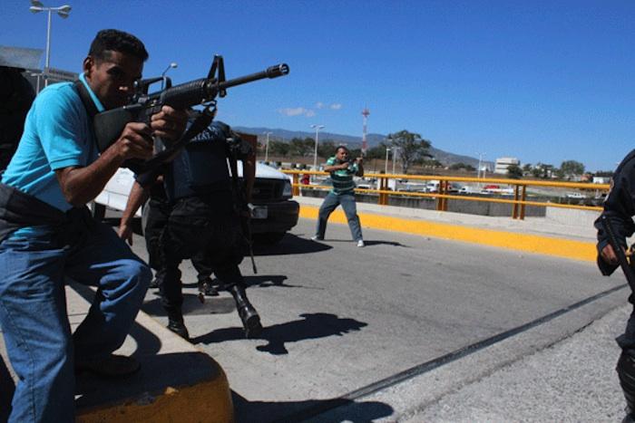 La empresa proveedora de armas pequeñas de Alemania es investigada por la presunta venta de miles de rifles de asalto G36 para México. Foto: Cuartoscuro