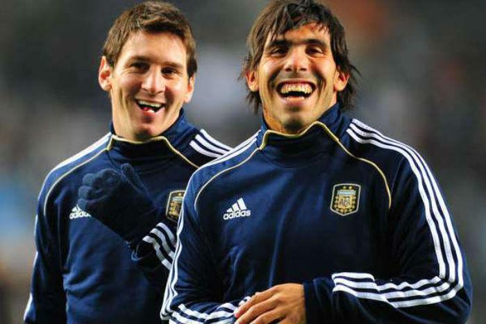 Marginado en el proceso de Sabella, Tévez volvió al seleccionado argentino en un amistoso ante Croacia en noviembre de 2014. Foto: efe
