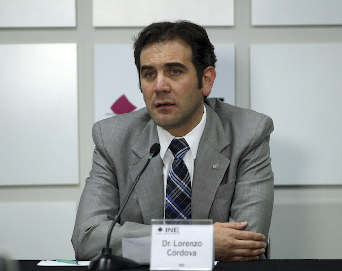 Lorenzo Córdova Vianello se disculpó este día por la conversación que tuvo y fue filtrada en redes. Foto: Cuartoscuro