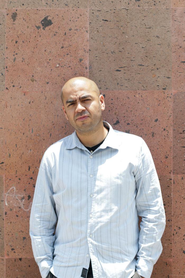 En Las bestias negras, el escritor poblano pone en jaque el mundo de la cultura. Foto: Francisco Cañedo, SinEmbargo