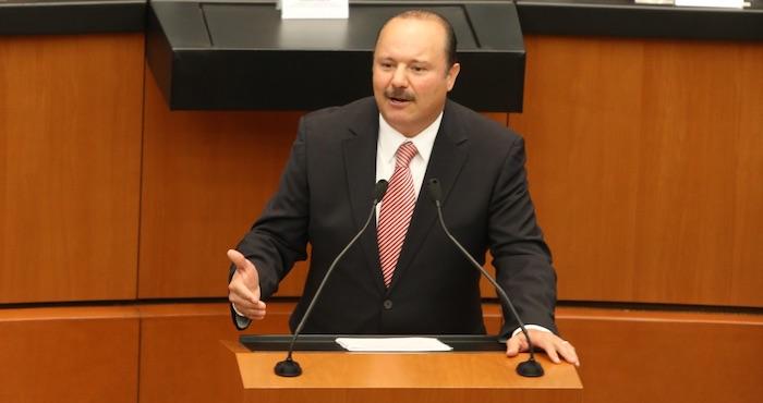 El priista César Duarte Jáquez, Gobernador de Chihuahua. Foto: Cuartoscuro