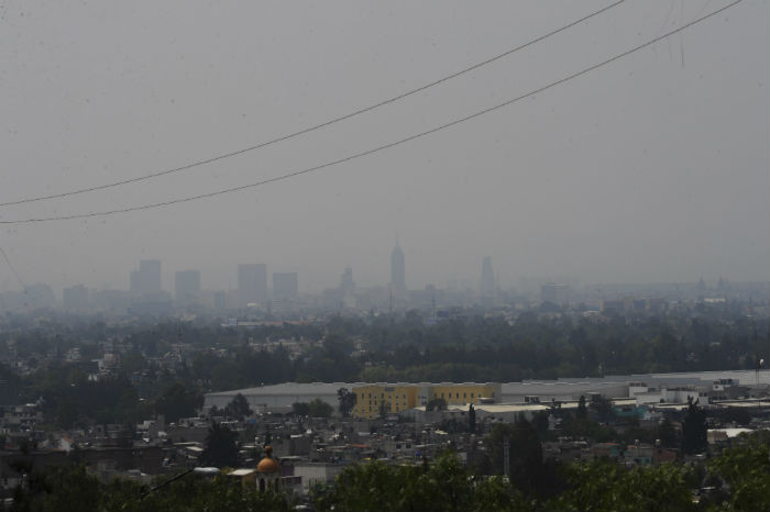 Una imagen del Distrito Federal, ciudad afectada por la contaminación ambiental. Foto: Cuartoscuro
