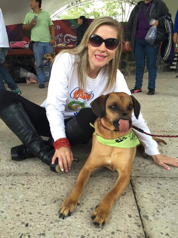 """""""Sólo los que amamos, realmente a los perros, logramos descifrar el significado de sus ladridos"""", concluye la activista."""