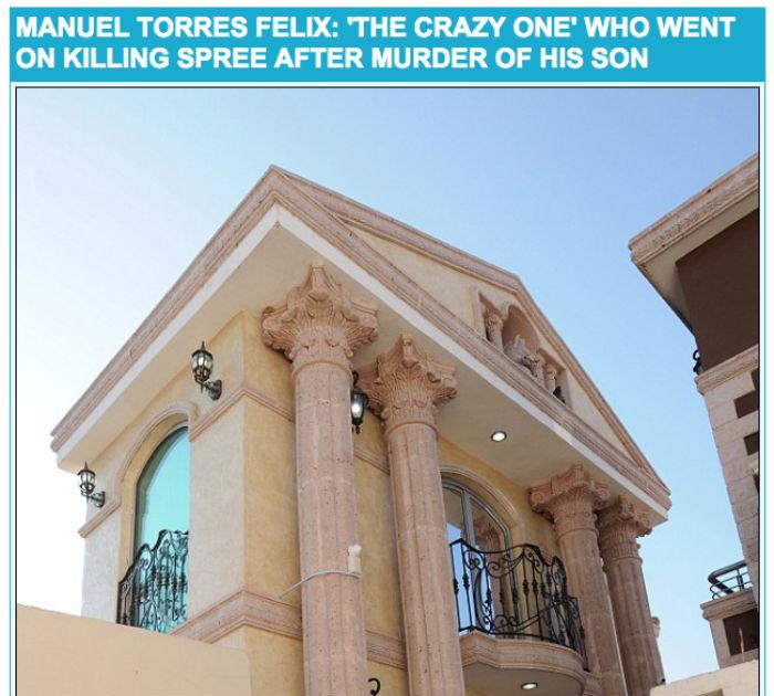 """El mausoleo de """"El loco"""" está construido en el estilo antiguo de Atenas, con columnas griegas dentro y por fuera. Foto: Captura de pantalla."""