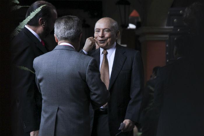 El ex Gobernador Manuel Cavazos Lerma. Foto: Cuartoscuro.