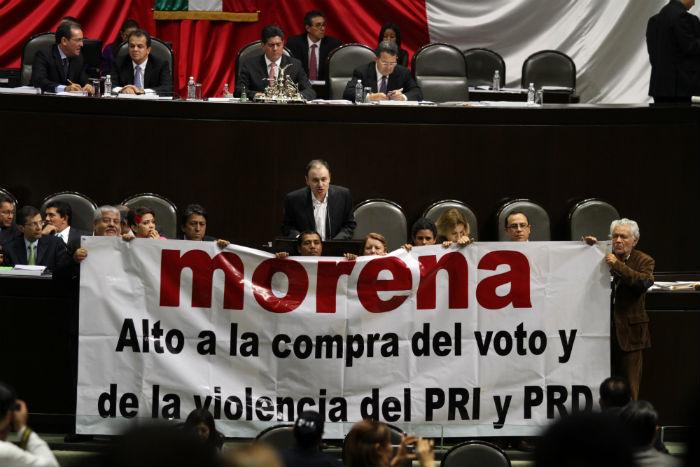 Los resultados de Morena y Movimiento Ciudadano sorprendieron a los analistas. Foto: Cuartoscuro