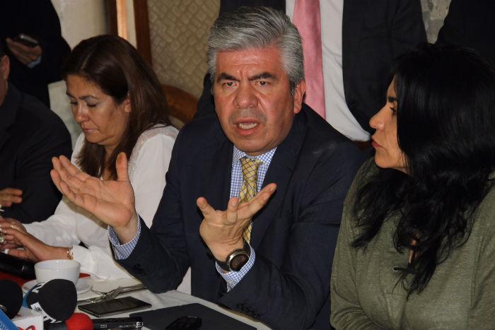 Raúl Flores, líder del PRD en la capital del país. Foto: Francisco Cañedo