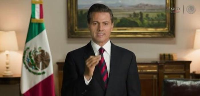 EPN agradece la participación de los mexicanos en las elecciones. Foto: Presidencia