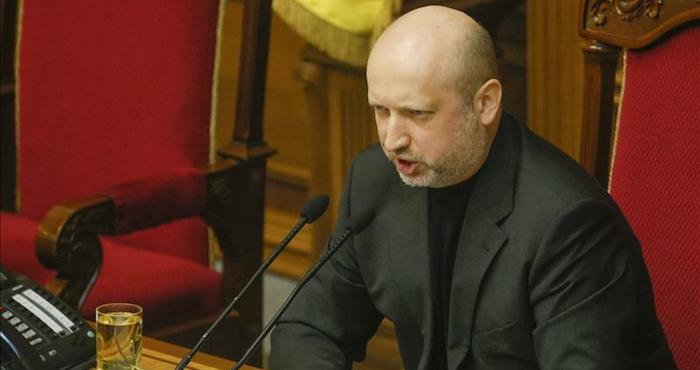 El jefe del Consejo de Seguridad y Defensa de Ucrania. Foto: EFE