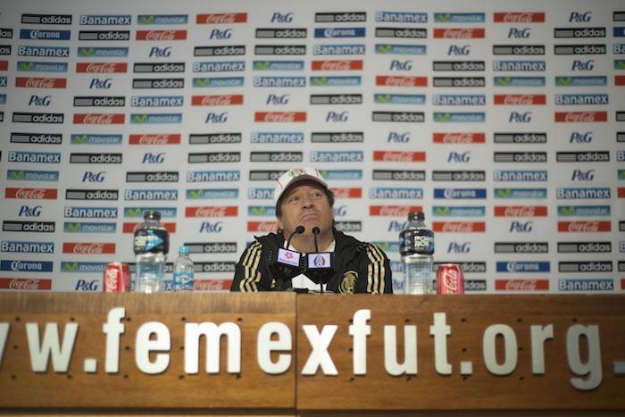 Miguel Herrera. Foto: Cuartoscuro.