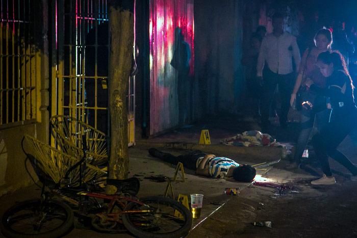 Víctima de balacera en Culiacán. Foto: Cuartoscuro