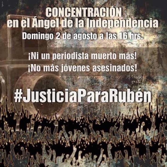 La concentración será en el Ángel de la Independencia de la Ciudad de México. Foto: Especial