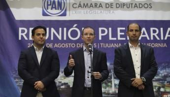 Ricardo Anaya, presidente del PAN