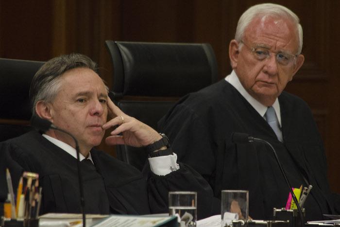 El magistrado Eduardo Medina Mora fue él único que votó en contra del proyecto a favor de las parejas homosexuales. Foto: Cuartoscuro