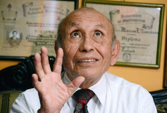 """Marcos Efrén Zariñana """"La Pulga"""" habla sobre el rescate de Abel Torres Chavez. Foto: EFE."""
