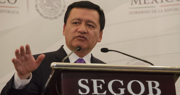 Miguel Ángel Osorio Chong, titular de la Segob Foto: Cuartoscuro