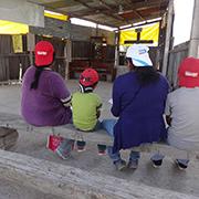 Iglesia cato?lica en uno de los cerros recie?n ocupados en Chimalhuaca?n. Foto: Humberto Padgett, Sinembargo