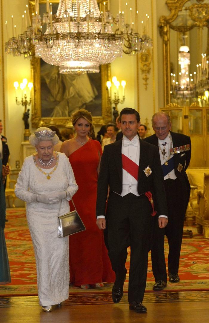 El viaje de Londres ha sido el que más ha costado. Foto. Presidencia.