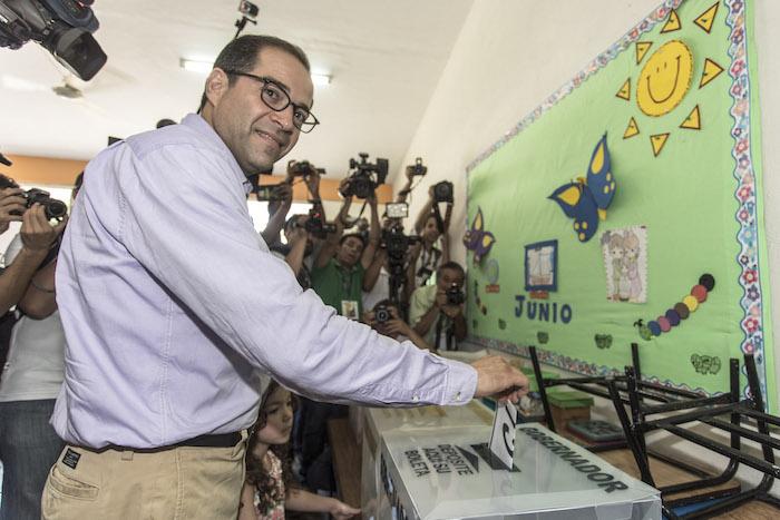 José Ignacio Peral, candidato declarado ganador en elección de Gobernador de Colima. Foto: Cuartoscuro