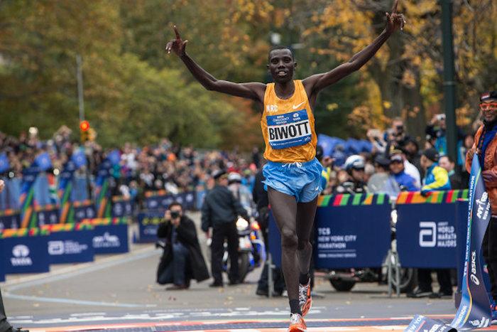 Los kenianos se apoderaron del maratón más famoso del mundo. Foto: