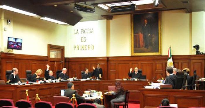 Primera Sala de la Suprema Corte de Justicia de la Nación. Foto: Notimex