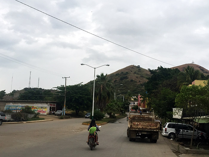 Bulevar de Arcelia, Guerrero. El municipio tiene 19 mil habitantes. Foto: SinEmbargo Humberto Padgett