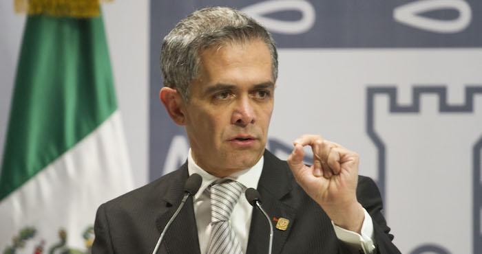 Miguel Ángel Mancera presentó esta propuesta que será retomada por el PRD en la Cámara de Diputados. Foto: Cuartoscuro