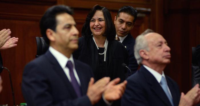 Norma Lucía Piña Hernández, Ministra de la SCJN. Foto: Cuartoscuro