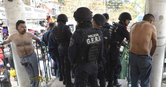 En un estudio publicado en México sobre los linchamientos registrados entre 1988 y abril de 2014, se contabilizaron 366 casos −266 intentos y 100 linchamientos consumados. Foto: Cuartoscuro