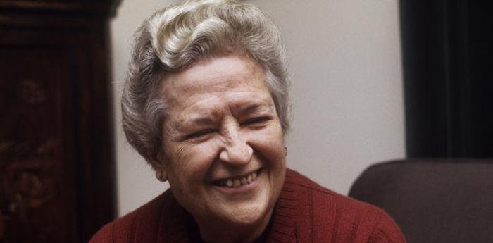 Carmen Conde, primera académica de la lengua. Foto: Especial