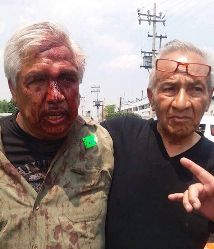 Los empleados acusan al ex administrador de mandarlos a golpear. Foto: Soledad Victoria Cruz, SinEmbargo